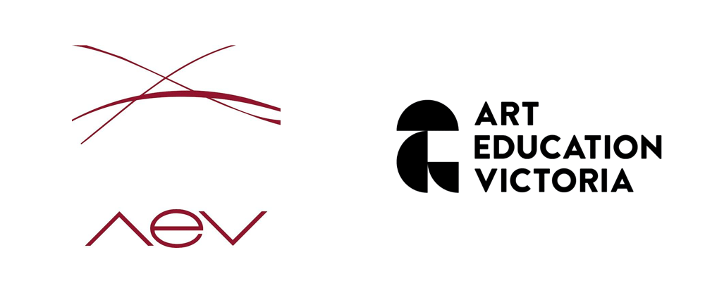 New Logo for Art Victoria Education by Principle Design