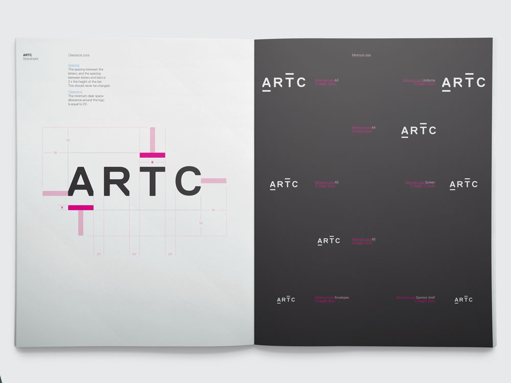 New Logo and Identity for ARTC by Moon