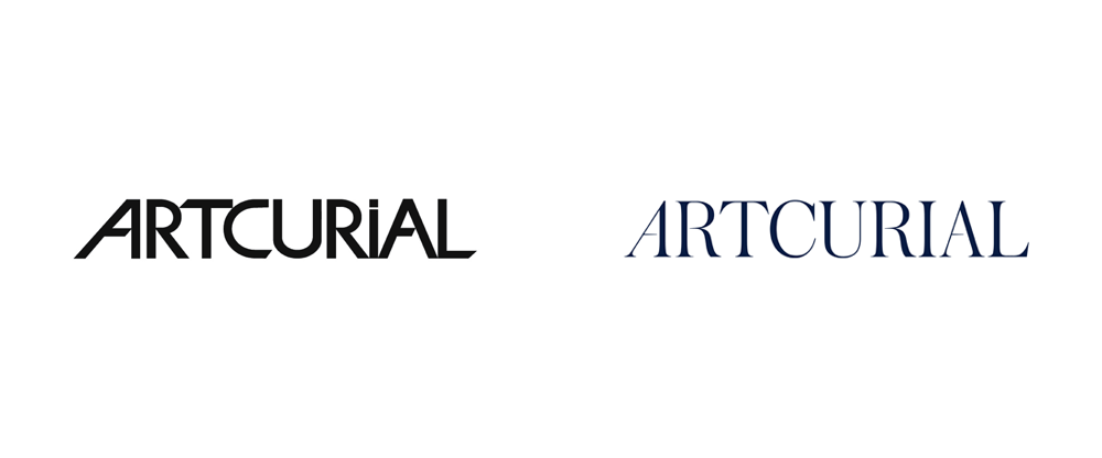 New Logo and Identity for Artcurial by Yorgo&Co