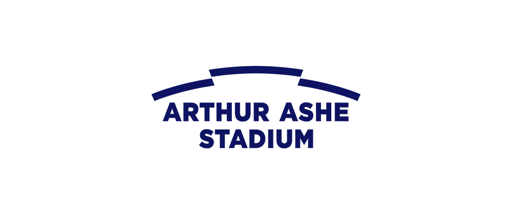 New Logo for Arthur Ashe Stadium by Chermayeff & Geismar & Haviv