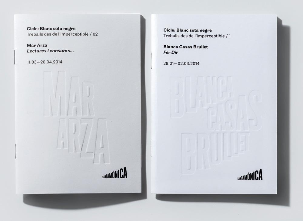 New Logo and Identity for Arts Santa Mònica by Mario Eskenazi