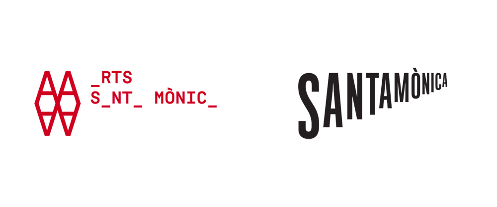 New Logo and Identity for Arts Santa Mònica by Mario Eskenazi