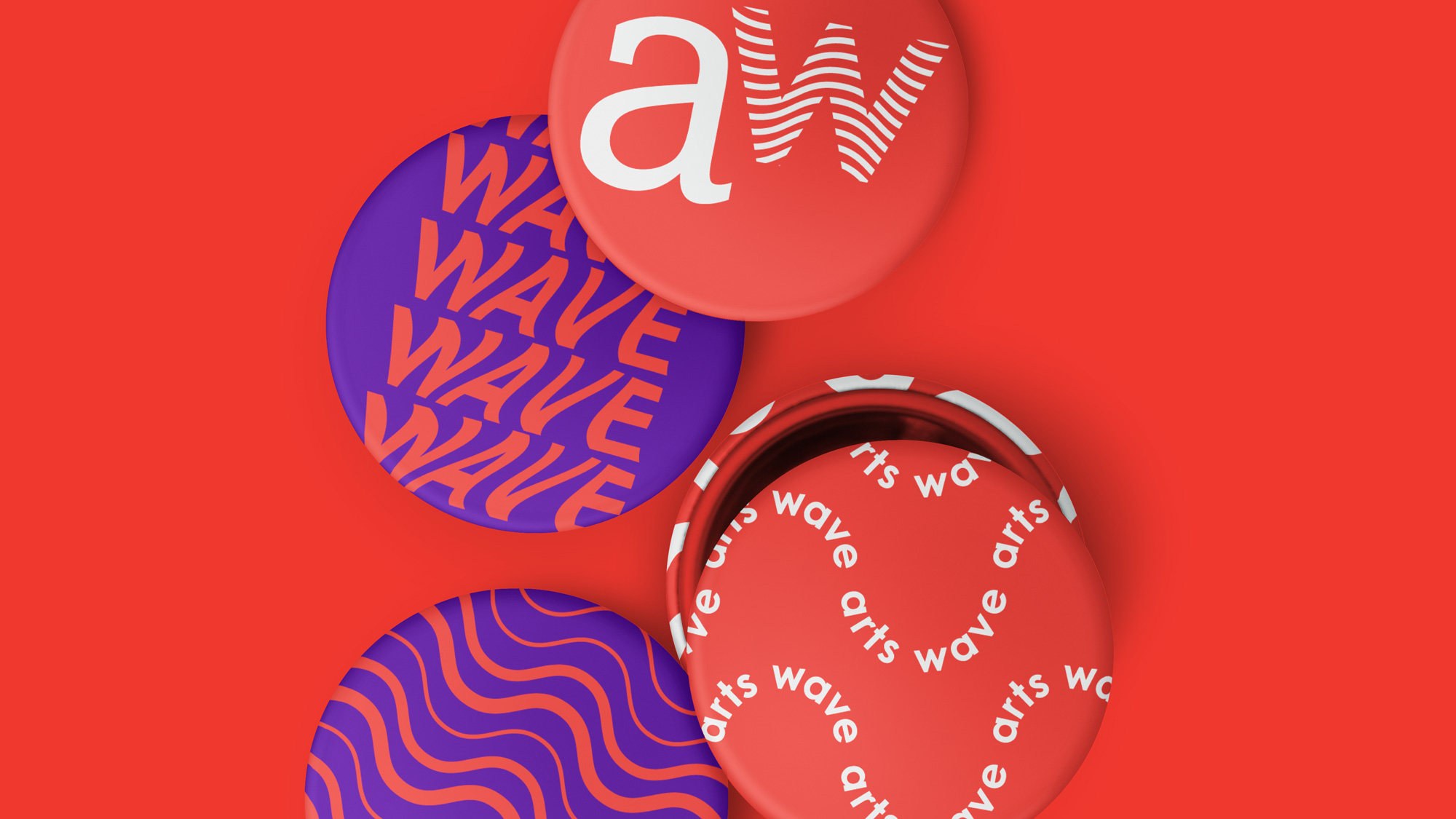 New Logo and Identity for ArtsWave by LPK