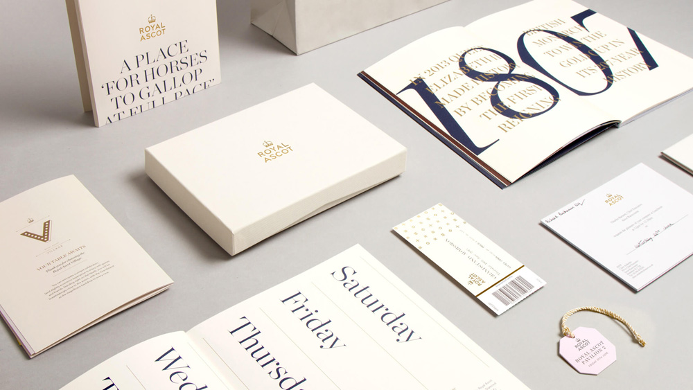 New Logo and Identity for Ascot by The Clearing