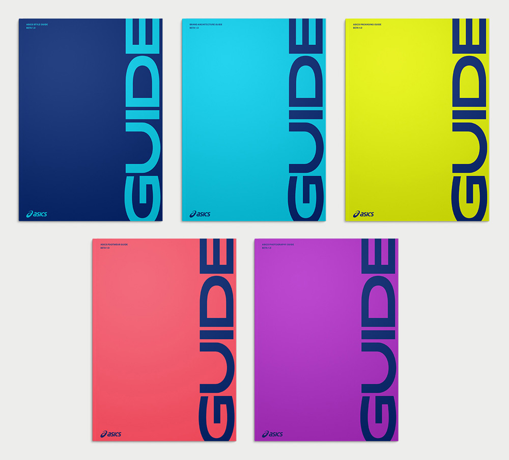New Identity for ASICS by Bruce Mau Design