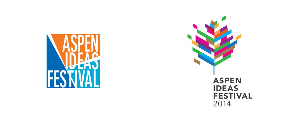 New Logo for Aspen Ideas Festival by Infinia
