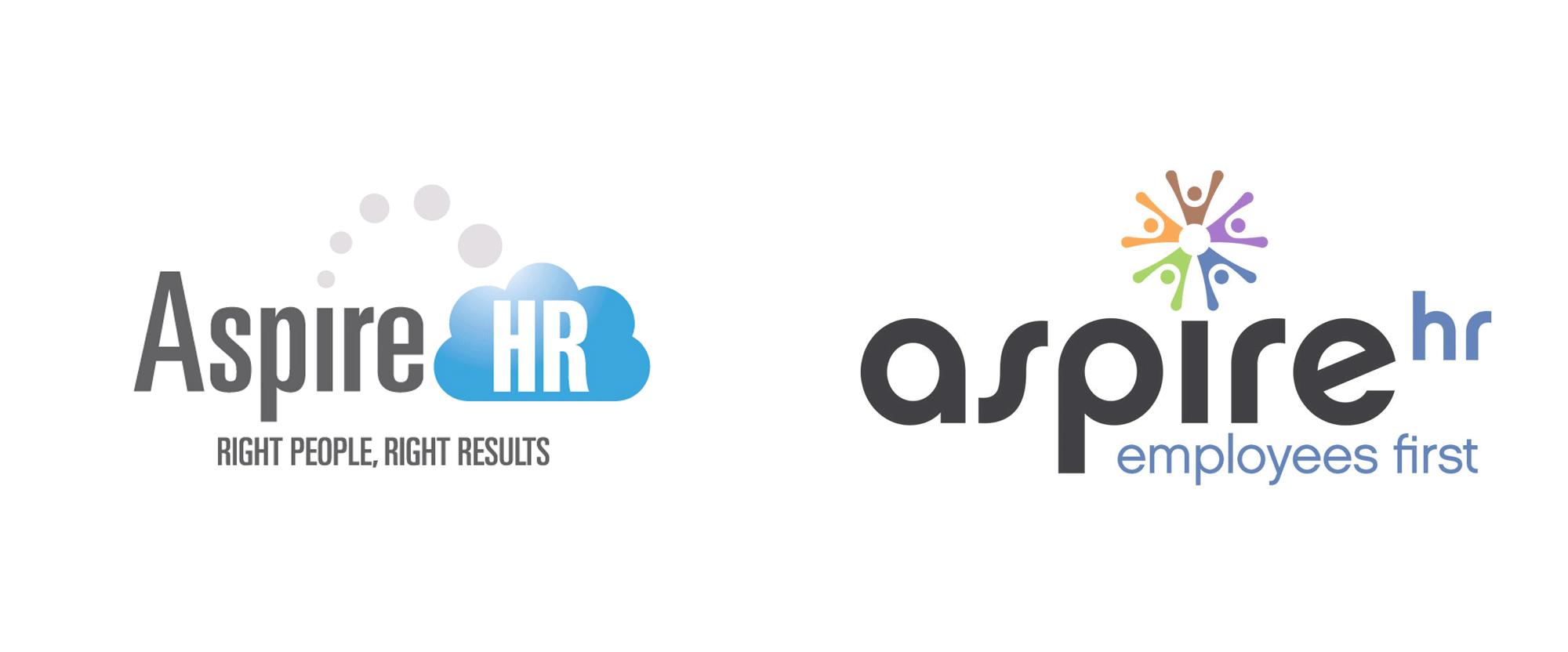 New Logo for AspireHR by Beyondigital