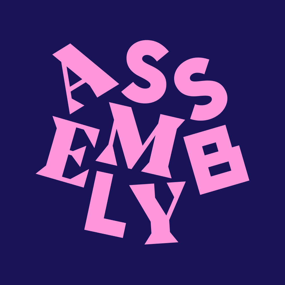 New Logo and Identity for Assembly by Ragged Edge