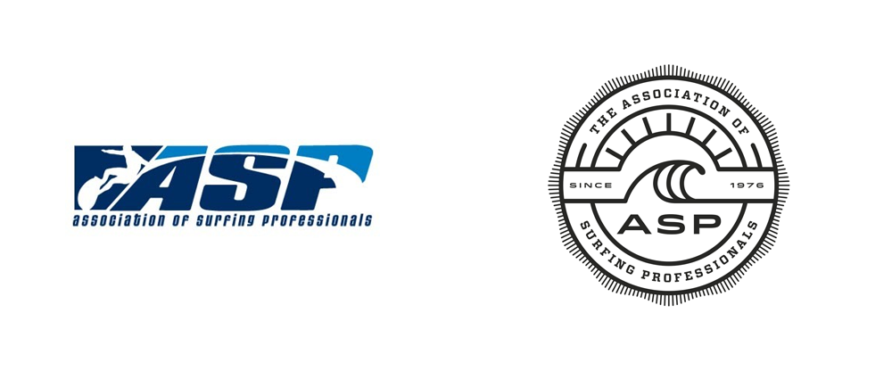 New Logo for Association of Surfing Professionals