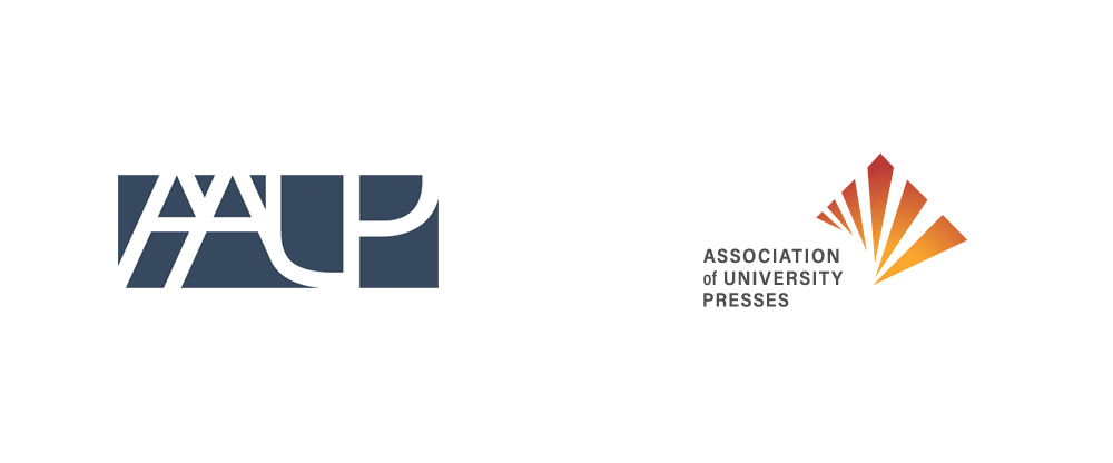 New Logo for Association of University Presses by Studiolo Secondari and Paper Plus Rocket