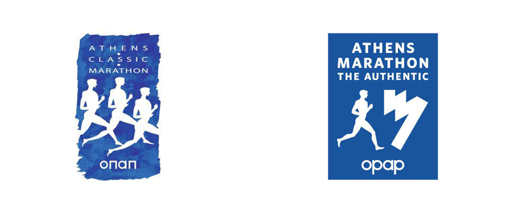New Logo and Identity for Athens Authentic Marathon by LazoKakou
