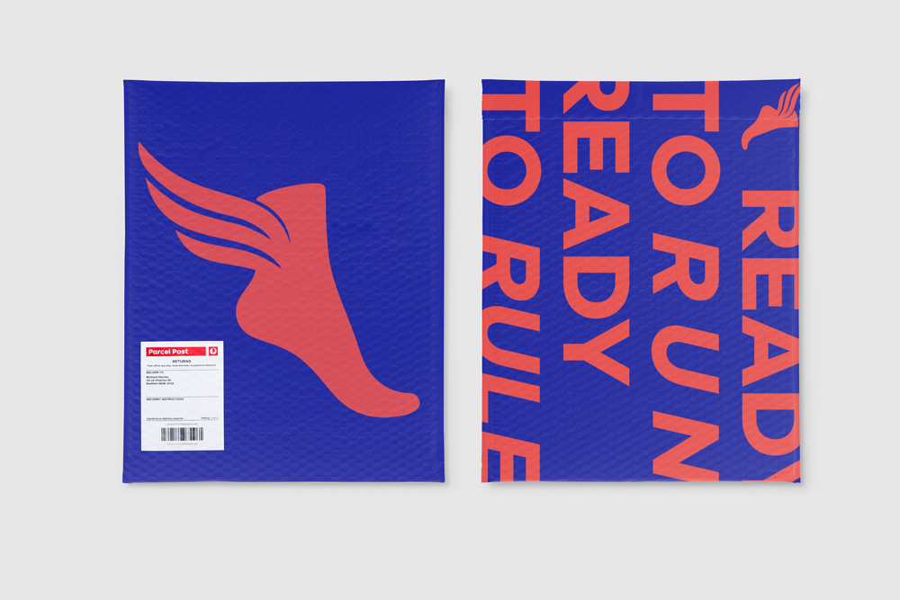 New Logo and Identity for The Athlete's Foot (Australia) by Re