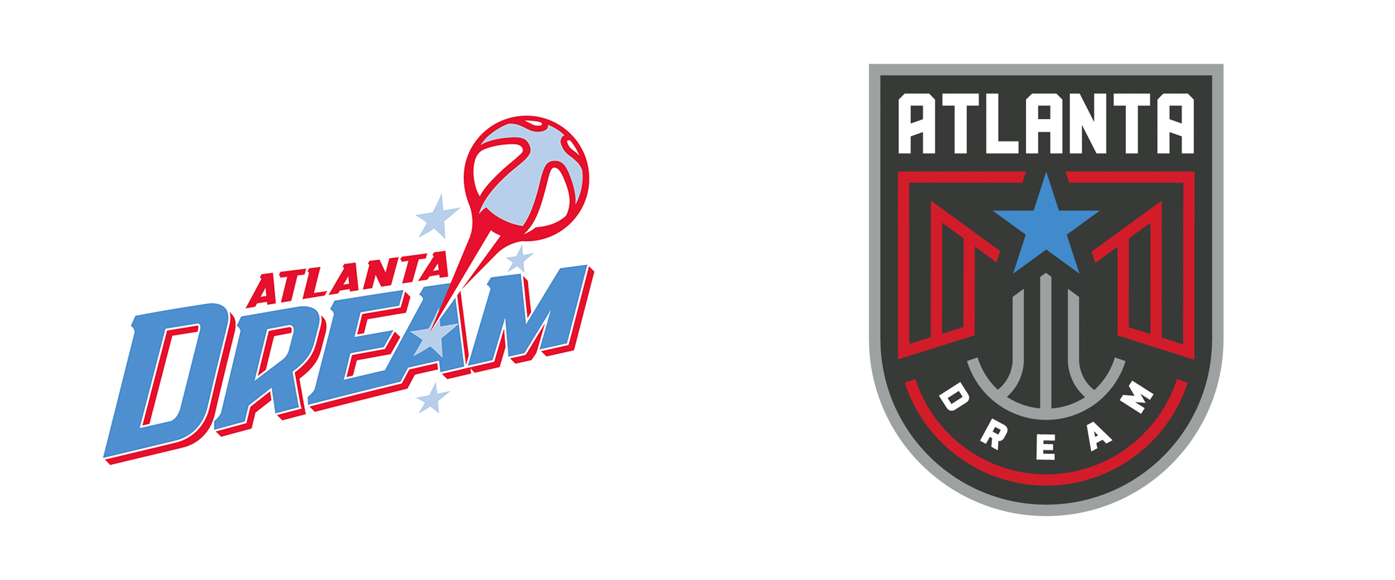 New Logos for Atlanta Dream by Tantrum Agency