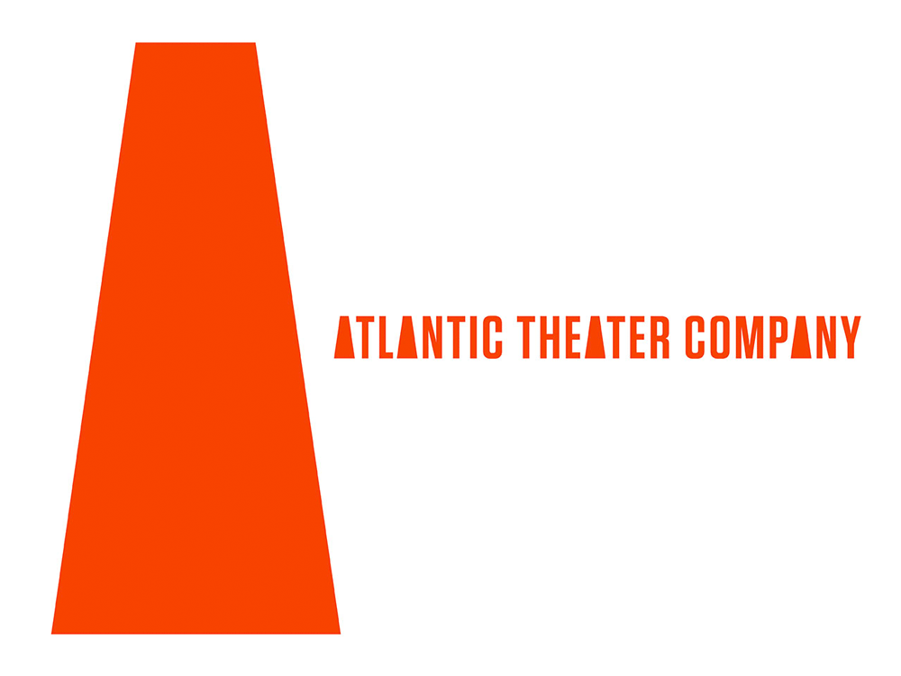 brand new new logo and identity for atlantic theater