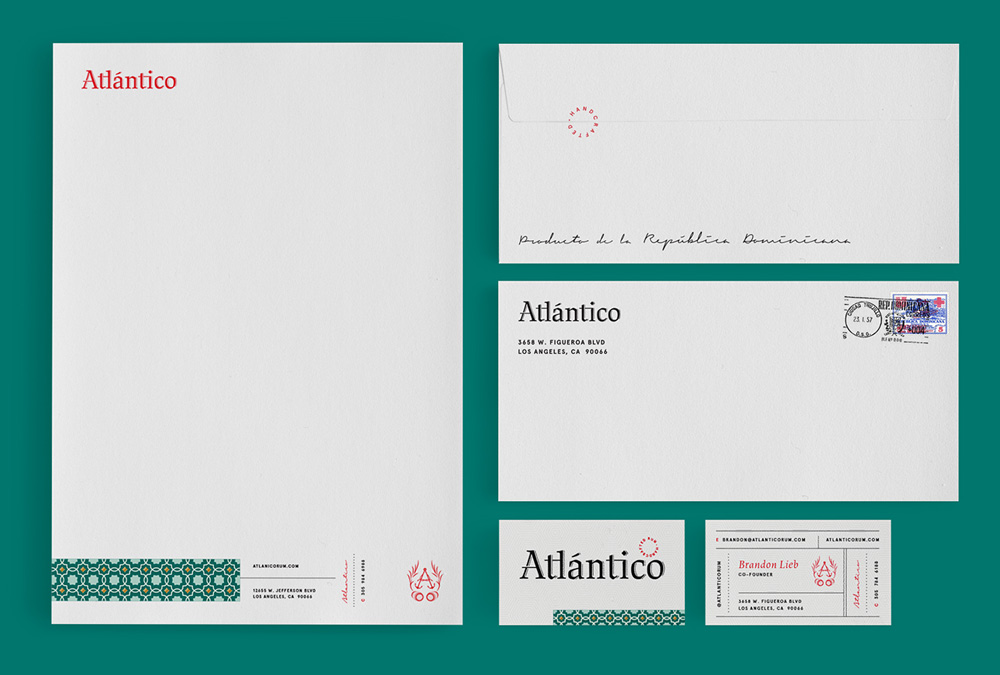 New Logo, Identity, and Packaging for Atlántico Rum by Project M Plus