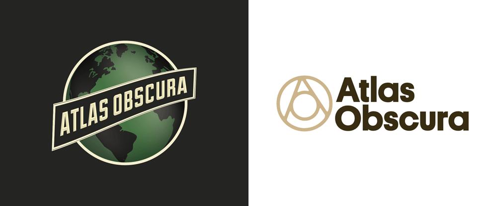 brand new new logo for atlas obscura