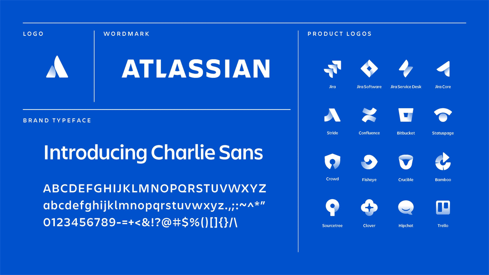 New Logo and Identity for Atlassian done In-house