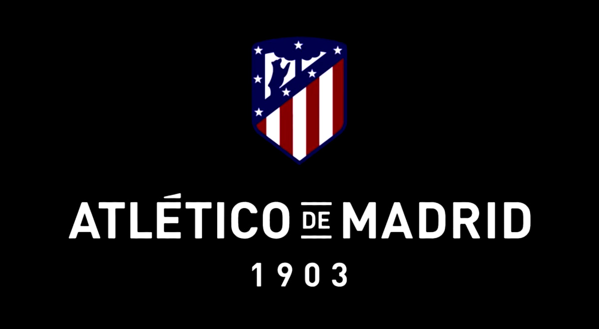 New Logo for Atlético Madrid by Vasava