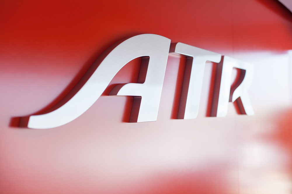New Logo and Identity for ATR by Carré Noir