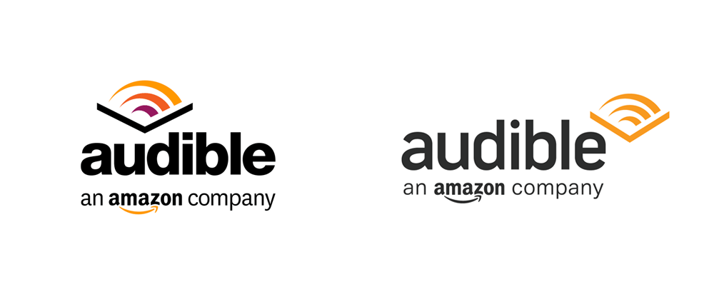 New Logo for Audible done In-house