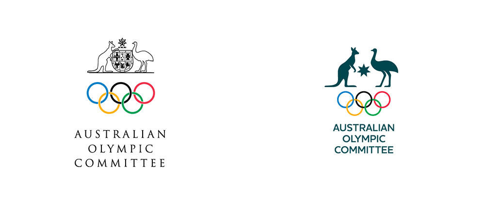 Brand New New Logo And Identity For Australian Olympic Committee