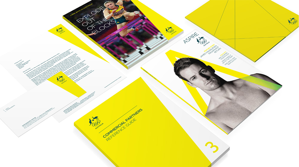 New Logo and Identity for Australian Olympic Committee