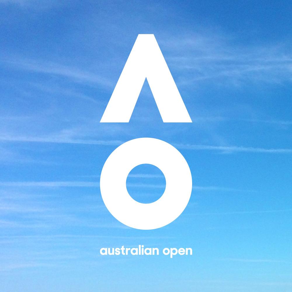 New Logo and Identity for Australian Open by Landor Australia