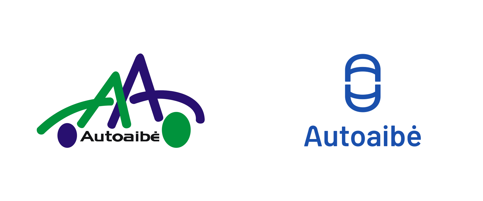 New Logo and Identity for Autoaibė by Rebrand
