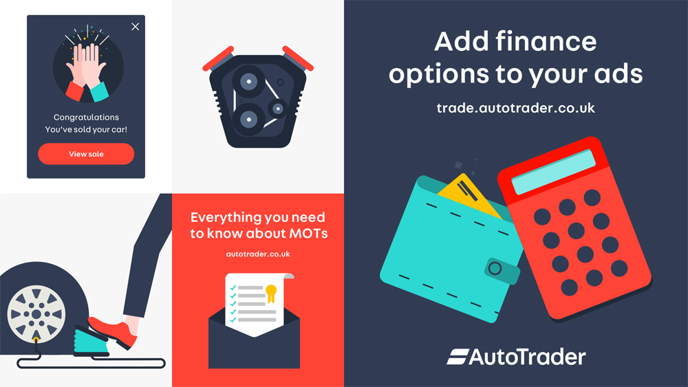 Brand New: New Logo and Identity for Auto Trader (UK) by Studio Output