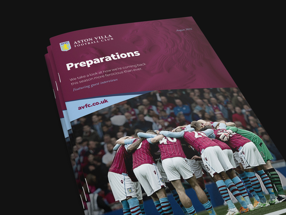 New Logo and Identity for Aston Villa Football Club by SomeOne