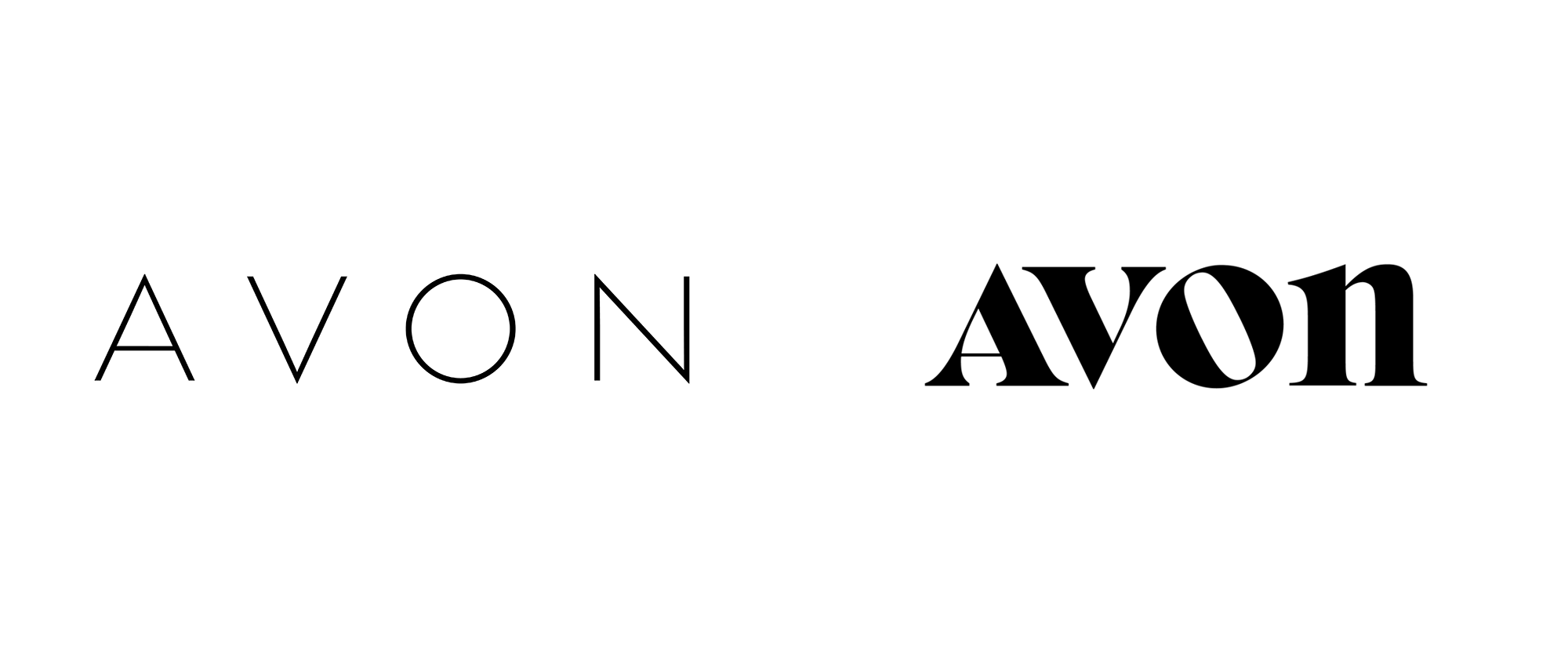 New Logo for Avon by Standard Black