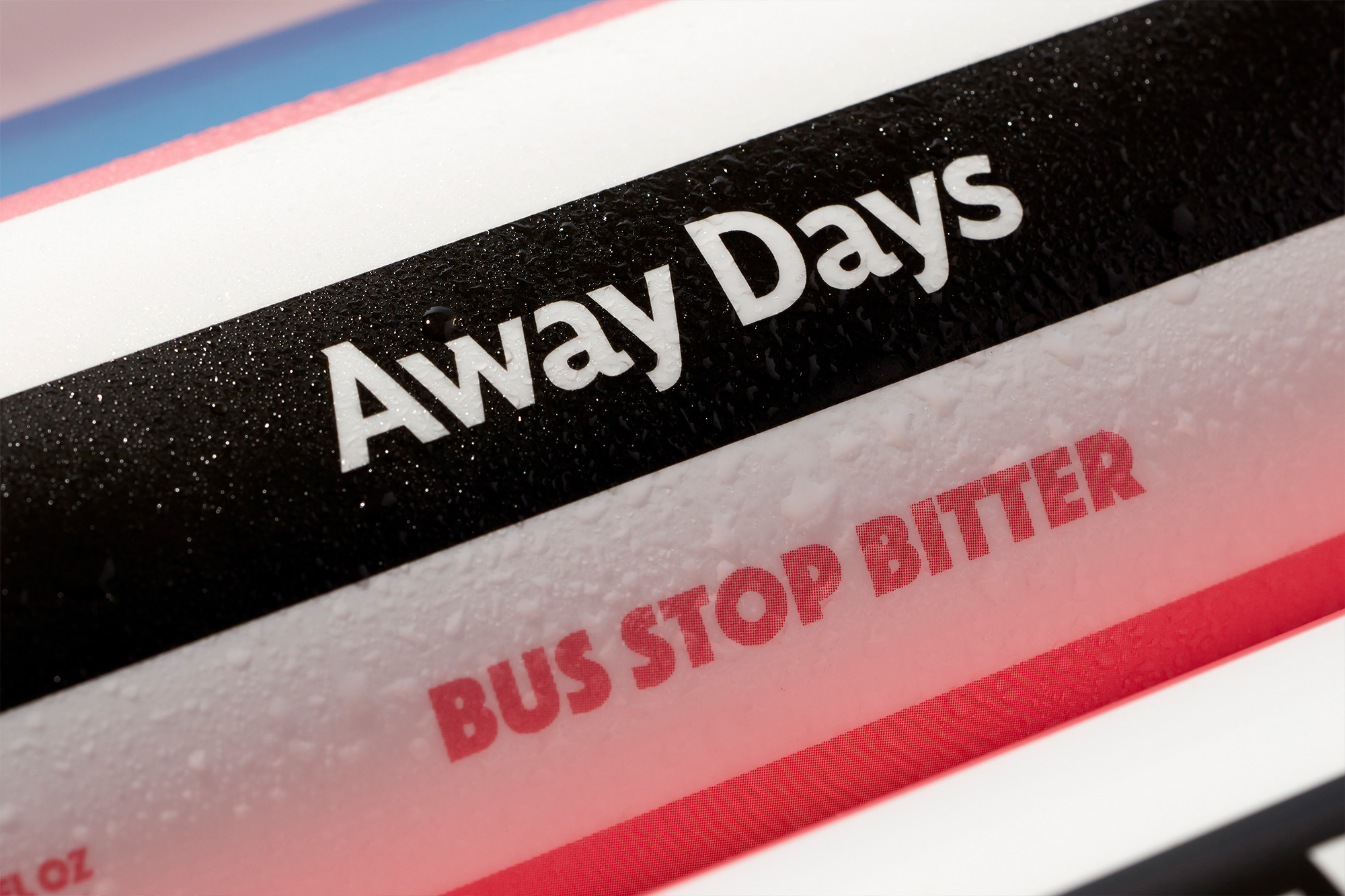 New Logo and Identity for Away Days by Land of Plenty