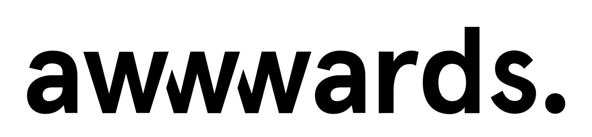 New Logo and Identity for Awwwards by Lesap and In-house