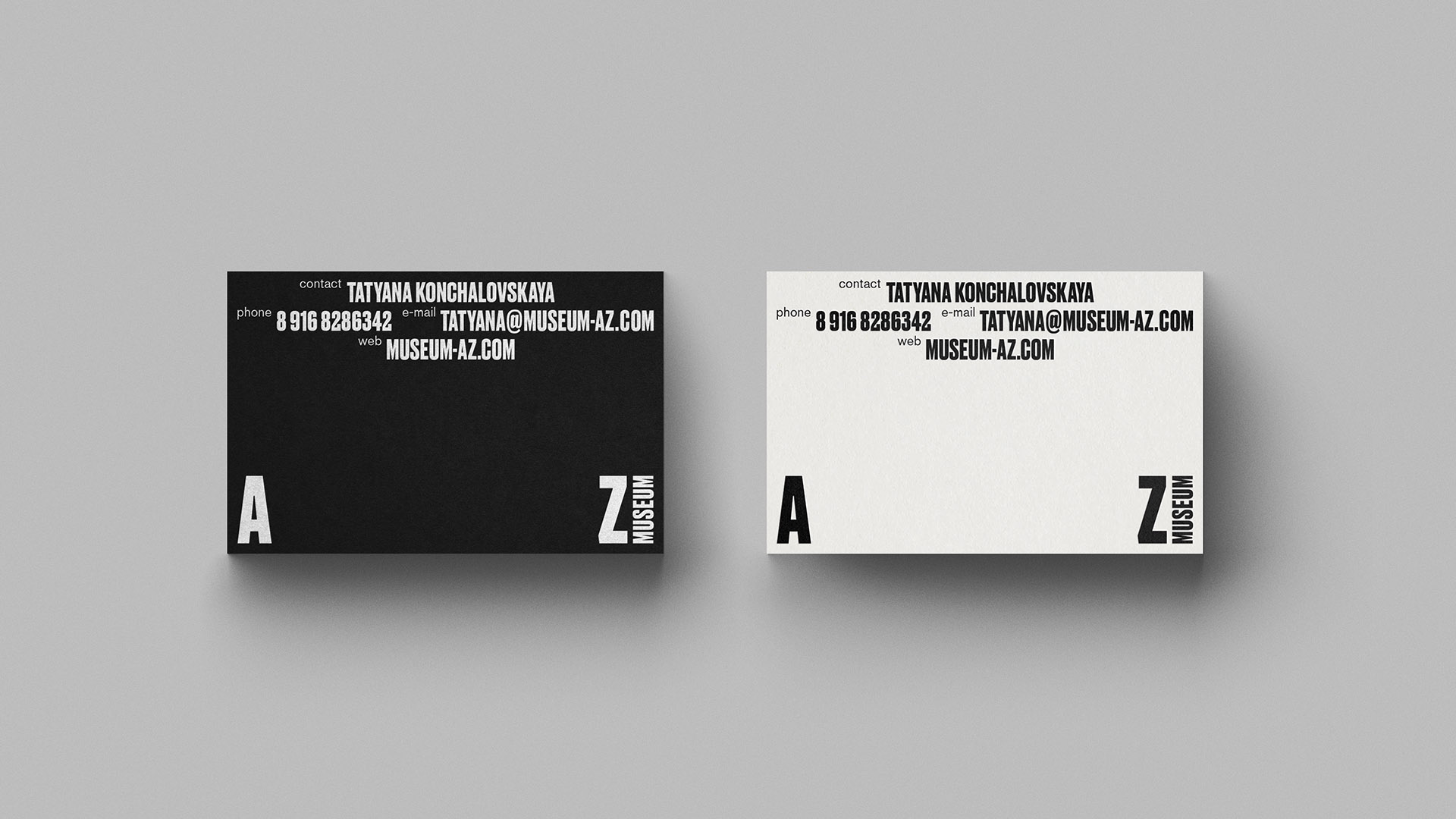 New Logo and Identity for AZ Museum by ONY