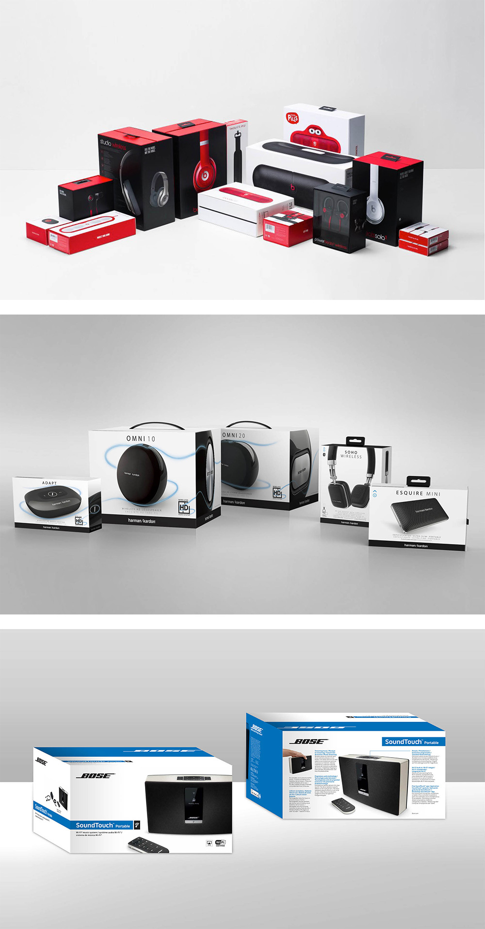 New Packaging for B&O Play by Pearlfisher
