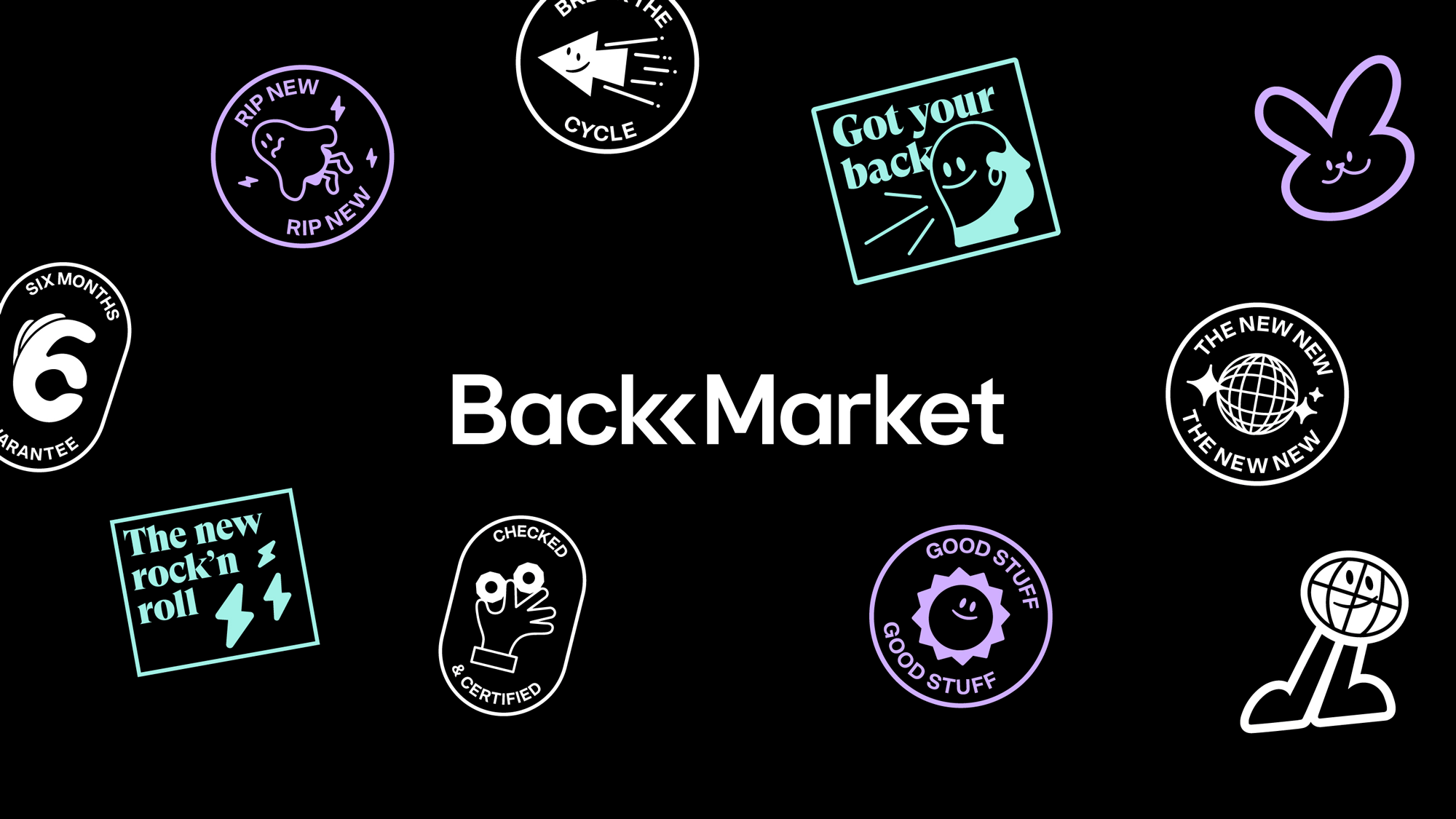 New Logo and Identity for Back Market by Koto