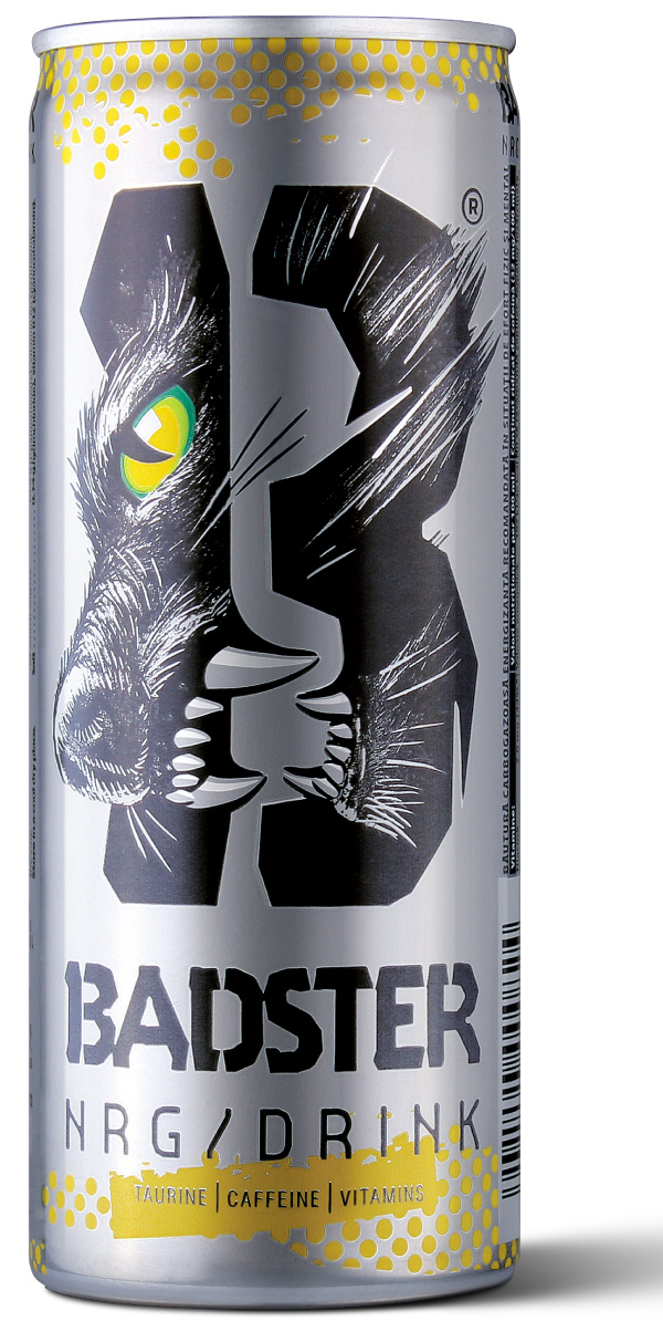 brand new  new logo and packaging for badster by brandient