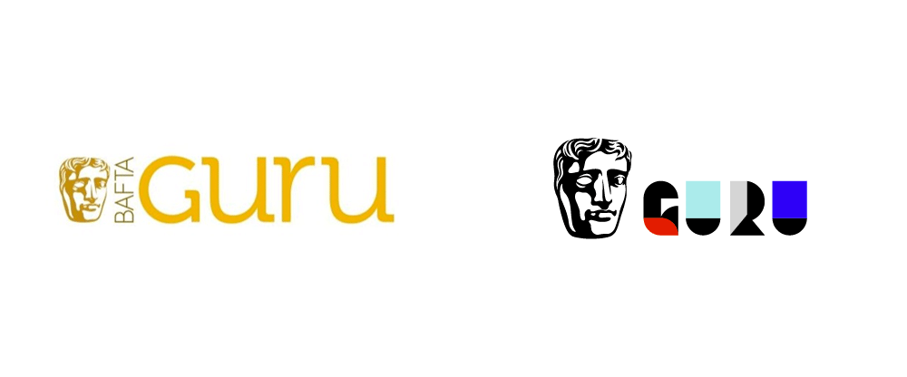 New Logo and Identity for BAFTA Guru by Onrepeat Studio