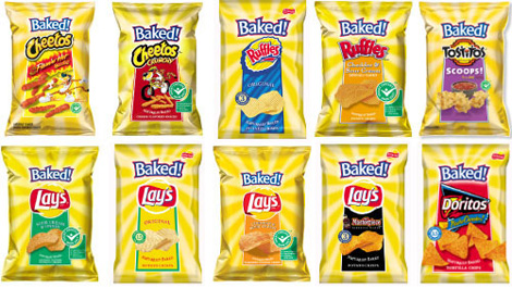 Baked Lay's Packaging, Old