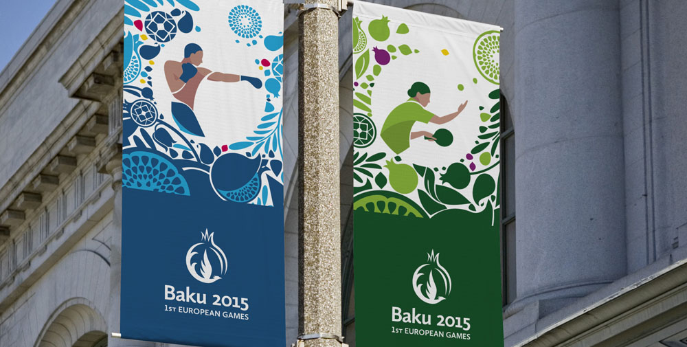 New Look of the Games for Baku 2015 by SomeOne