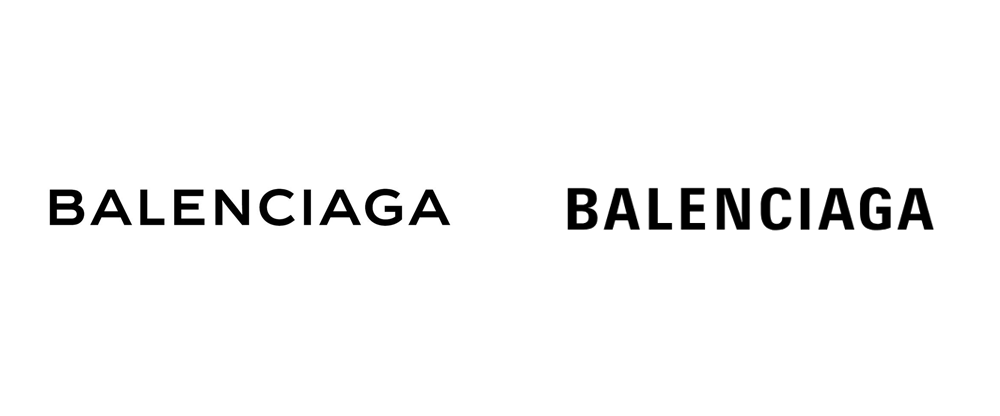 New Logo for Balenciaga
