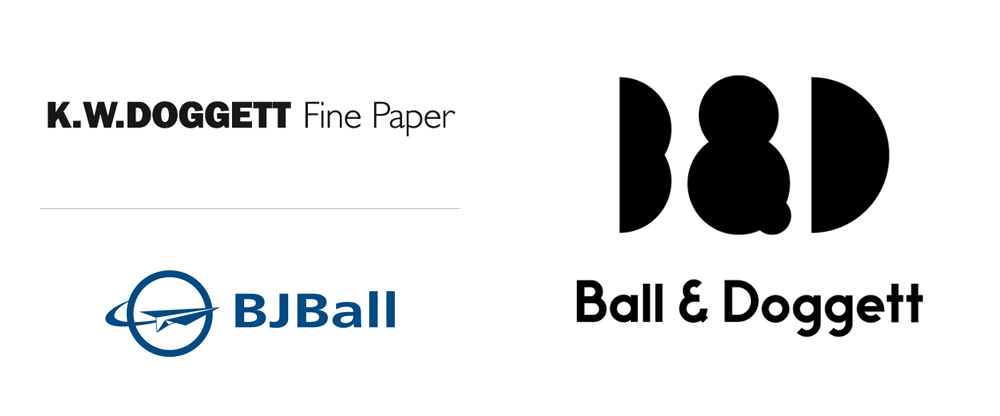 New Logo and Identity for Ball & Doggett by For the People