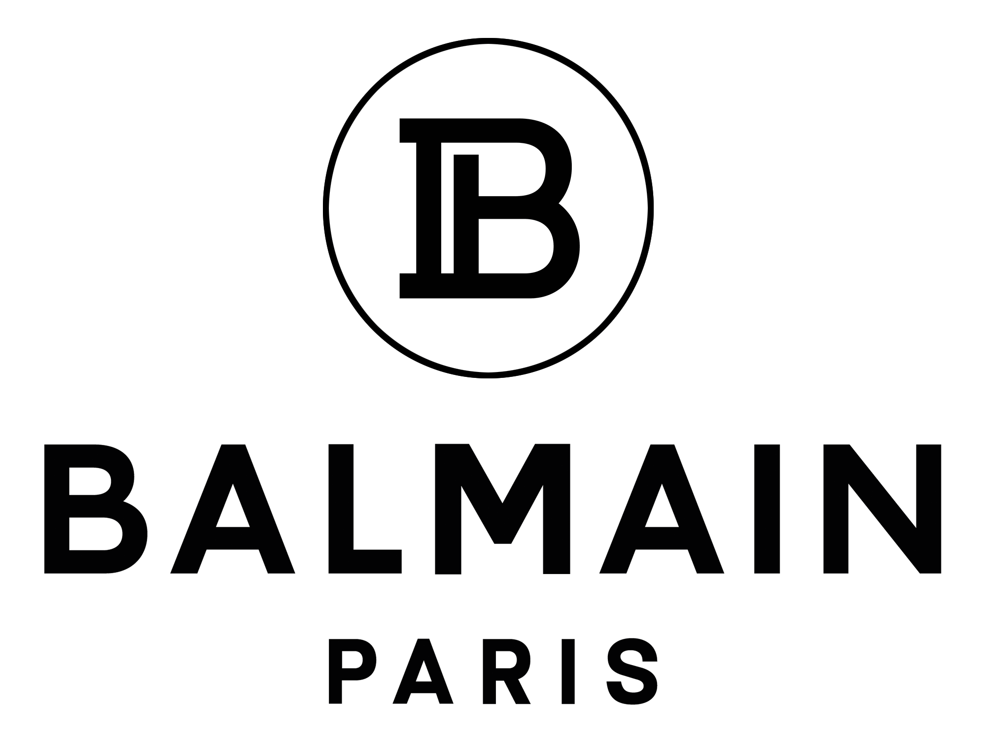 New Logo for Balmain by Adulte Adulte