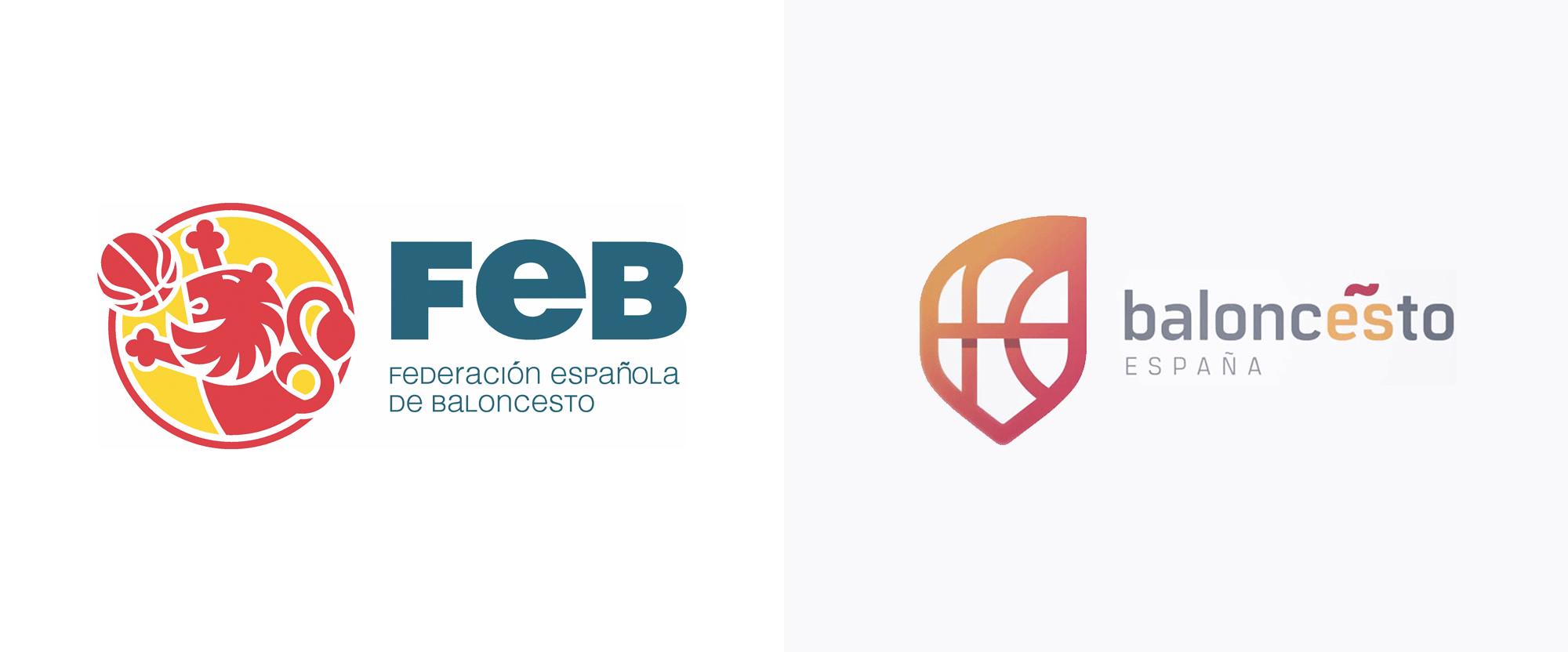 New Logo for Federación Española de Baloncesto