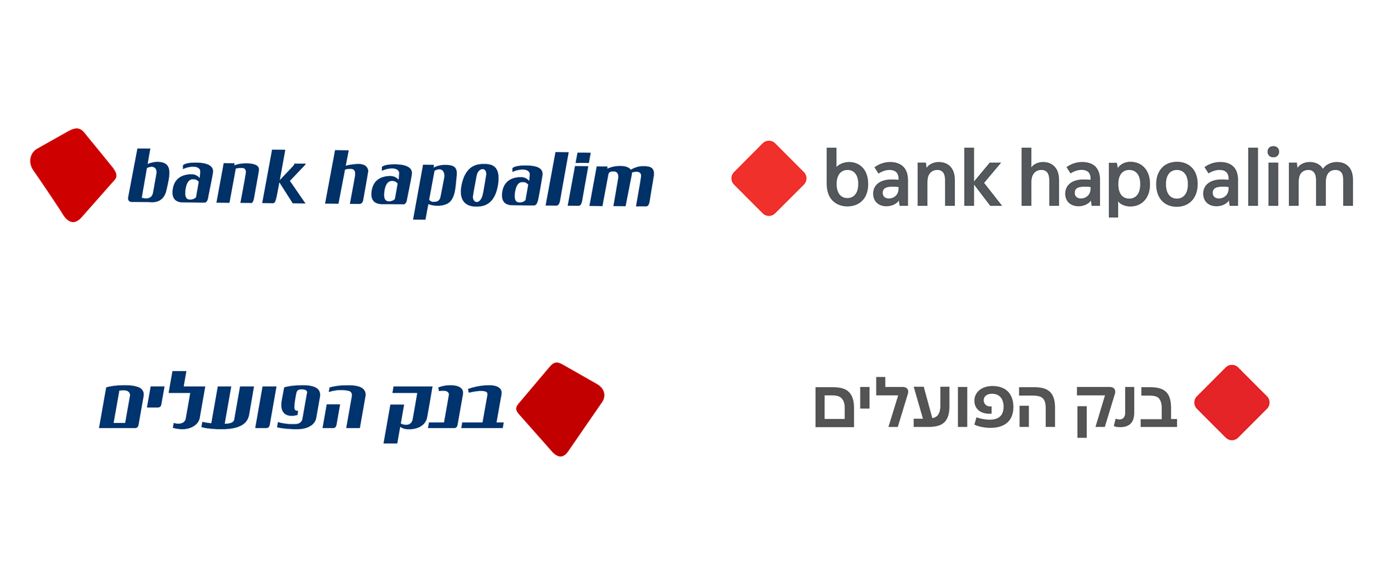 New Logo and Identity for Bank Hapoalim by Open