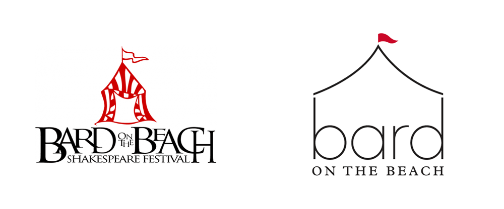 New Logo and Identity for Bard on the Beach by Carter Hales