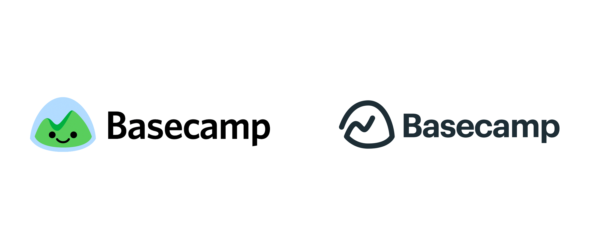 New Logo for Basecamp done In-house