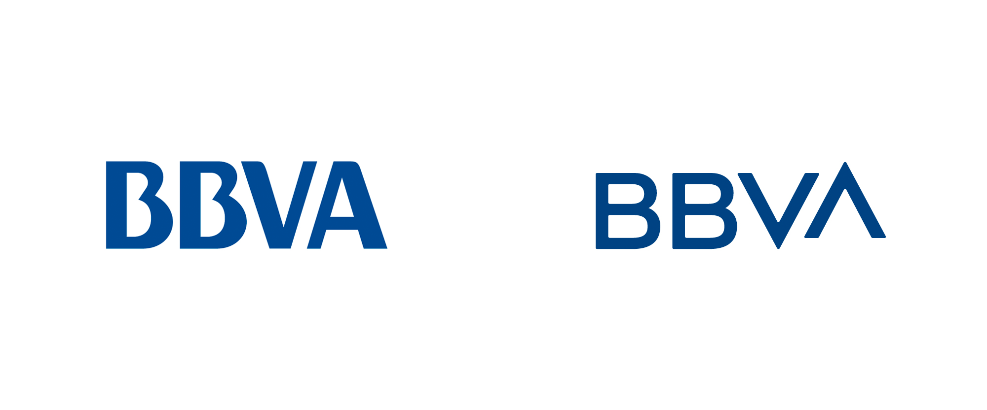 New Logo for BBVA by Landor