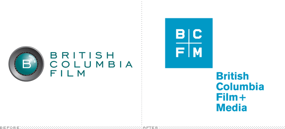 British Columbia Film Logo, Before and After