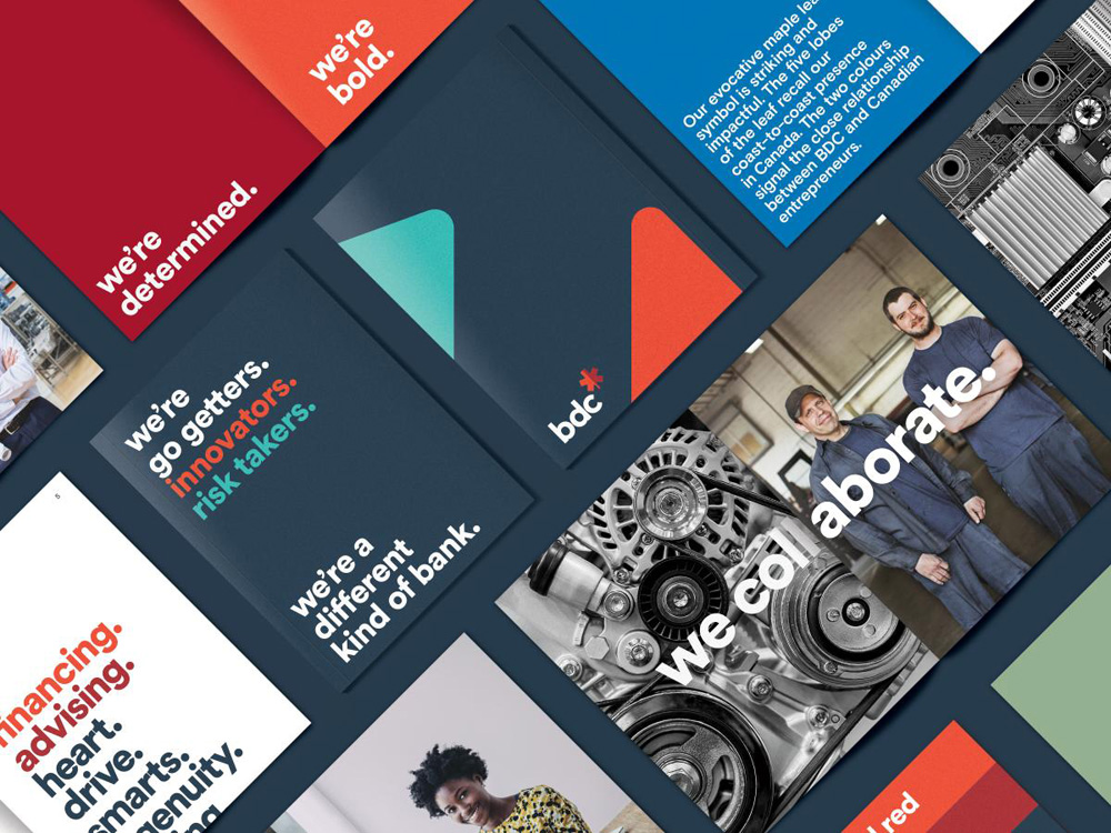 New Logo and Identity for BDC by Cossette